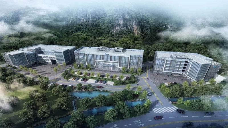 飞宇科技产业化基地建设项目封顶