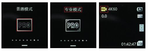 Feiyu Pocket 2S如何进入PRO模式